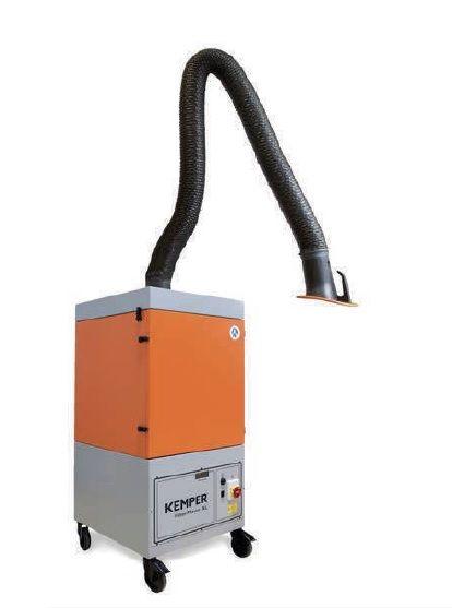 Kemper Filter-Master XL - 2m rameno, hadicové provedení, mobilní odsávací zařízení