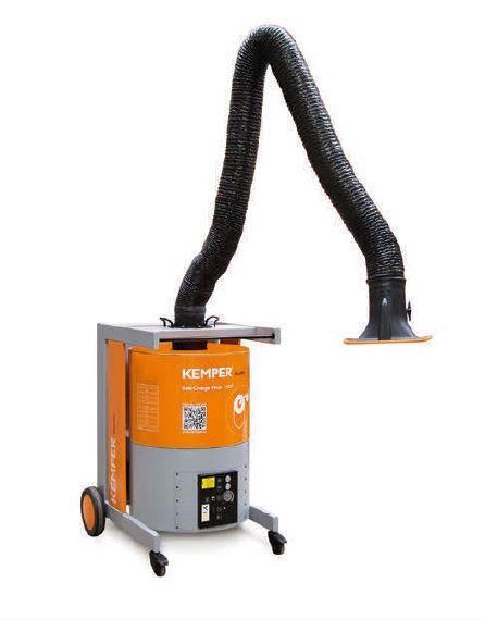 Kemper MaxiFil - 2m rameno, trubkové provedení, mobilní odsávací zařízení s aktivním uhlím