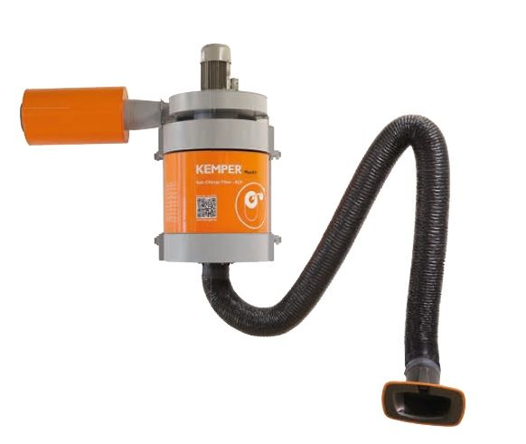 Kemper MaxiFil - 7m rameno, hadicové provedení, stacionární odsávací zařízení