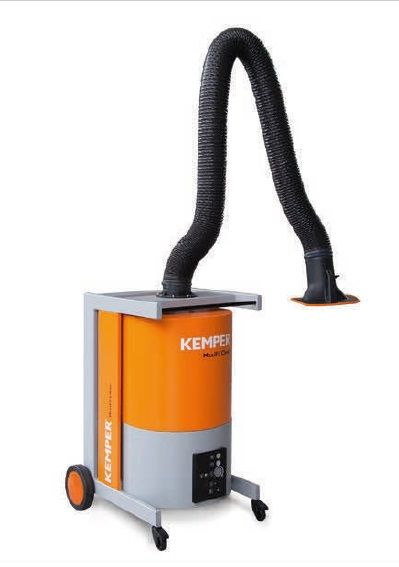 Kemper MaxiFil Clean - 4m rameno, trubkové provedení, mobilní odsávací zařízení