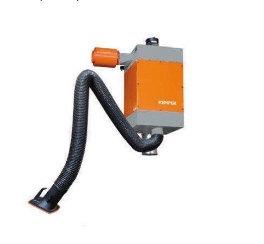 Kemper patronový filtr, rameno 1 x 4m, hadicové provedení, (samoodčišťovací filtr)