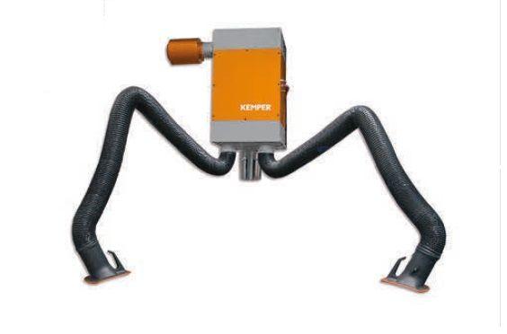Kemper patronový filtr, rameno 2 x 6m, hadicové provedení, (samoodčišťovací filtr)