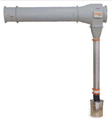 Kemper SparkTrap (připojení 355mm, max. 5000m3/h) - předodlučovač jisker s rozpoznáváním
