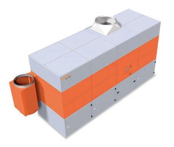 Kemper Systém 9000 (12000 - 17280 m3/h) - centrální odsávací zařízení