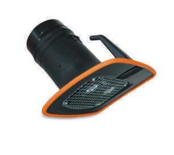 Odsávací hubice s osvětlením, 2 x 5 W LED-žárovky (prvotní vybavení se zařízením)