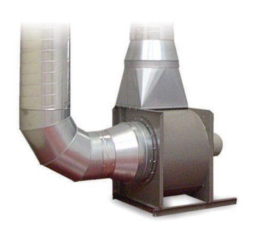 Centrální ventilátor (4000 - 7000 m3/h, 3 x 400V)