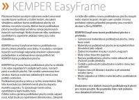 Kemper KemTab Basic /plechy do tl. 75mm/