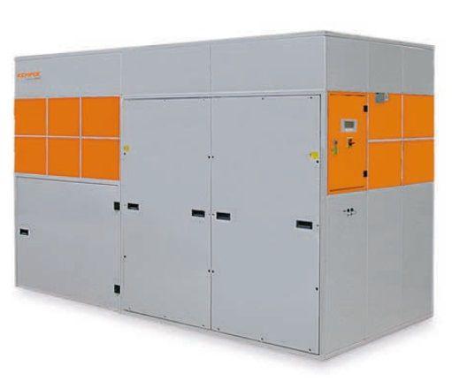 Kemper System 9000 HV (1800 - 3000m3/h) - centrální vysokotlaký odsávací systém