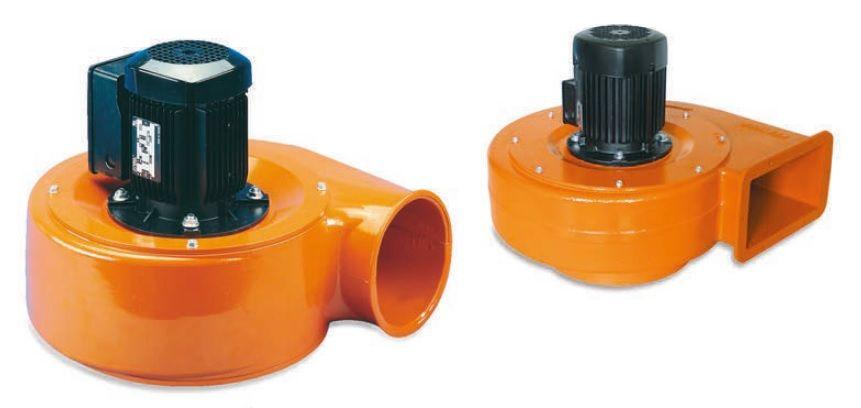 Ventilátor (2200m3/h, 1,1kW, 3 x 400V)