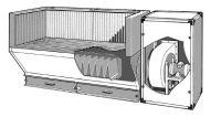 Aerservice BAF 30 - odsávaný stůl pro svařování a broušení, BAF30