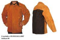 Rhinoweld JK 269 /M/ - svářečský kabát (bunda) z lehké kůže, šité kevlarovou nití