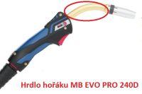 Binzel MB EVO PRO 240D  - hrdlo svařovacího hořáku pro metodu MIG/MAG, 023.0316
