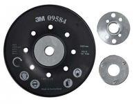 3M Vroubkovaná podložka pod vulkanfíbrové disky černá 125mm (09584), XC003410047