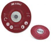 3M Vroubkovaná podložka pod vulkanfíbrové disky červená 125mm ( 64861), DE272923777
