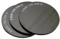 průměr 50mm č. 09 - tmavé sklo svařovací, 1ks