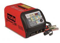 Telwin Starttronic 530 - 6/12/24V max.75A, pomocný start max.400 A/12/24V, 829034