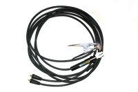 25mm2 / 10m (pár) 35-50 - gumové svářecí kabely s držákem elektrod do 200A