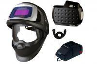 3M Speedglas™ 9100XX FX AIR, adflo + vysokokapacitní aku, brašna, hadice, 547725HD