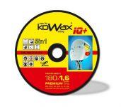 Kowax IQ+ 5v1 125 x 0,8 x 22,2mm na ocel, nerez, hliník, litinu, PVC, KWXRK12508+