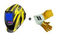 Kowax KWX820ARC+ 1/1/1/1 + DÁREK rukavice ESAB v ceně 220Kč! Samostmívací svářečská kukla