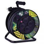 Prodlužovací  kabel 3 x 2,5mm2 / 50m na bubnu, 4 x zásuvka, 1908545000