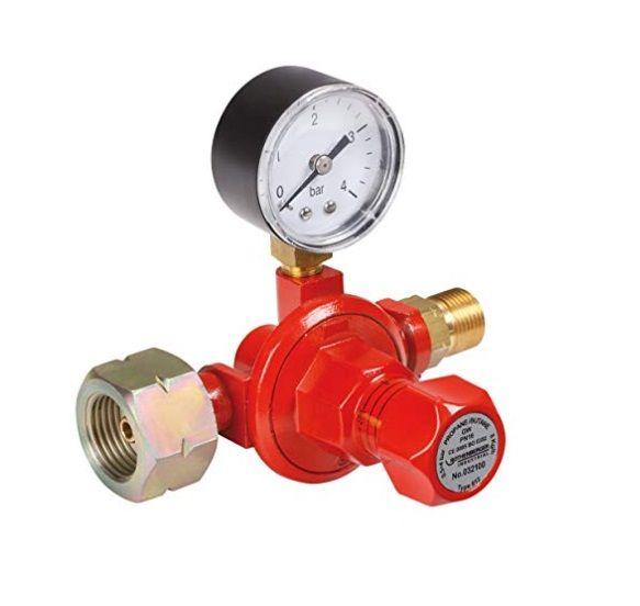 Redukční ventil PB 0,5-4,0bar s manometrem (regulátor tlaku), 032100E
