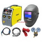 Kowax Genimig 220 SYN, svařovací invertor MMA - MIGMAG, kabely, hořák, kukla, KWXSTGM220
